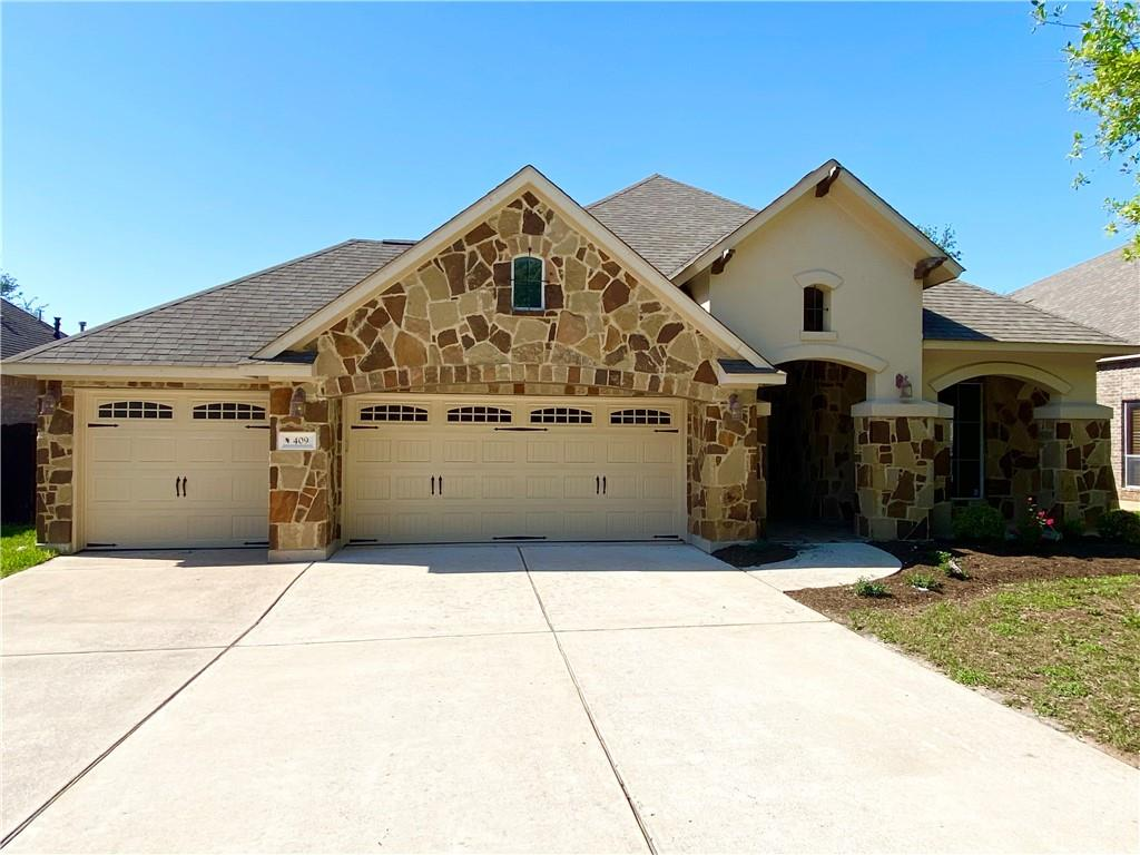 409 Misty Morn LN Property Photo - Cedar Park, TX real estate listing