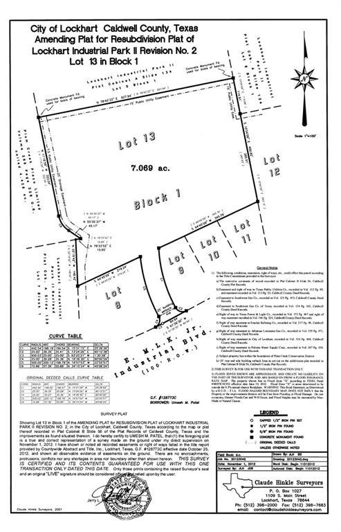 115 E Mlk Jr Industrial BLVD, Lockhart TX 78644 Property Photo