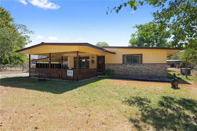 407 East ST, Buda TX 78610 Property Photo - Buda, TX real estate listing
