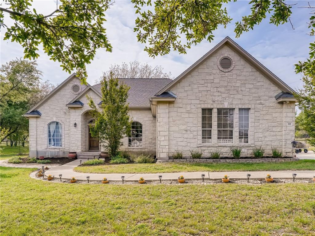 321 Mustang Mesa Property Photo - Liberty Hill, TX real estate listing