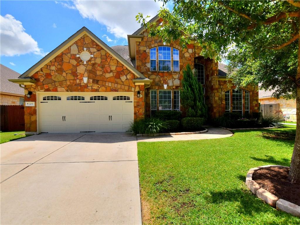 408 Scarlet Maple DR, Cedar Park TX 78613 Property Photo - Cedar Park, TX real estate listing