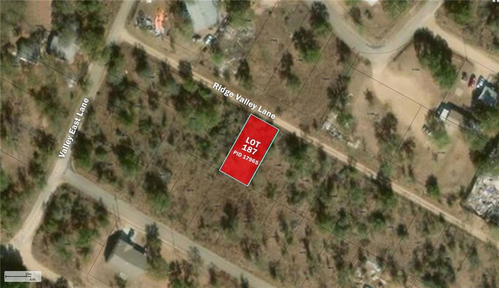 Lot 187 Ridge Valley LN, Granite Shoals TX 78654 Property Photo - Granite Shoals, TX real estate listing