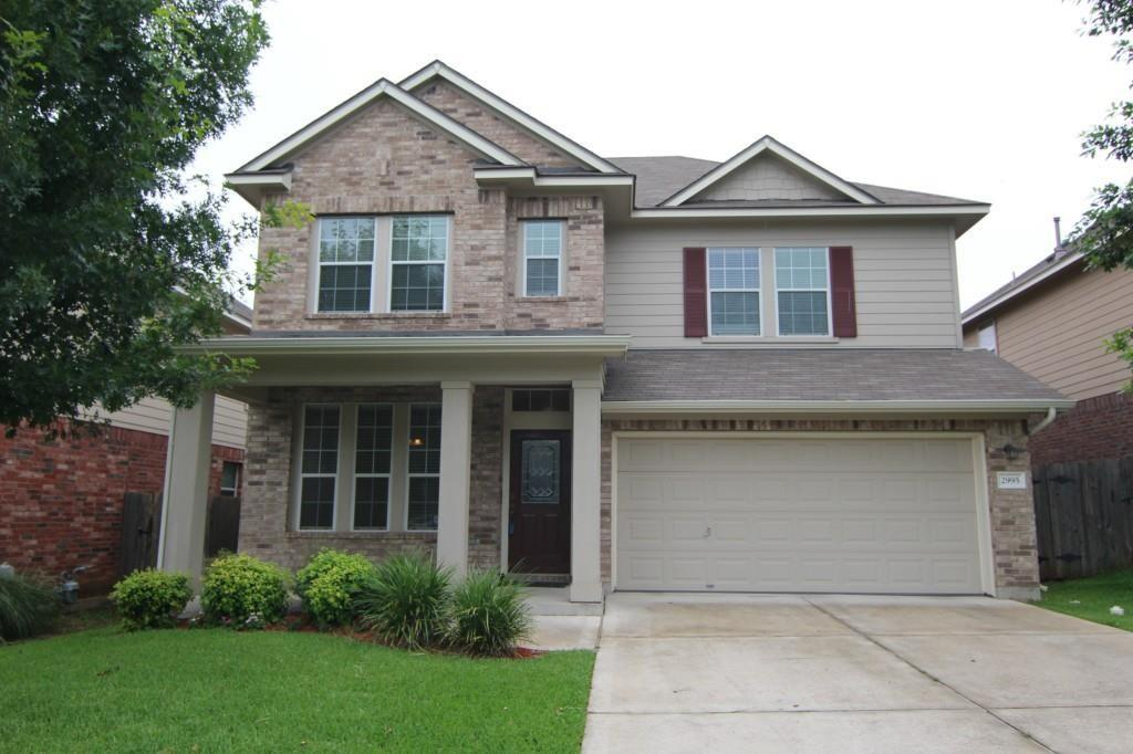 2995 Peacemaker ST, Round Rock TX 78681 Property Photo - Round Rock, TX real estate listing