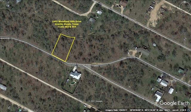 1495 Woodland Hills DR, Granite Shoals TX 78654 Property Photo - Granite Shoals, TX real estate listing