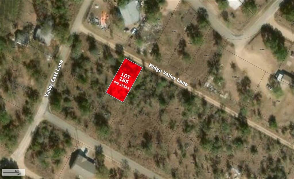 Lot 185 Ridge Valley LN, Granite Shoals TX 78654 Property Photo - Granite Shoals, TX real estate listing