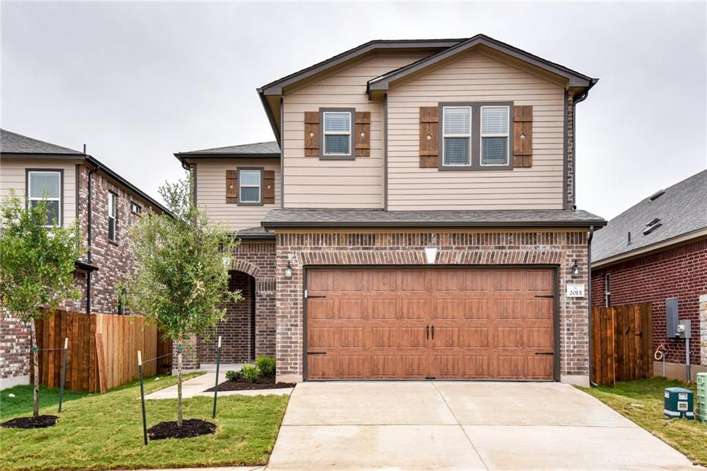 2015 Ebony Dove Street, Round Rock TX 78664 Property Photo - Round Rock, TX real estate listing