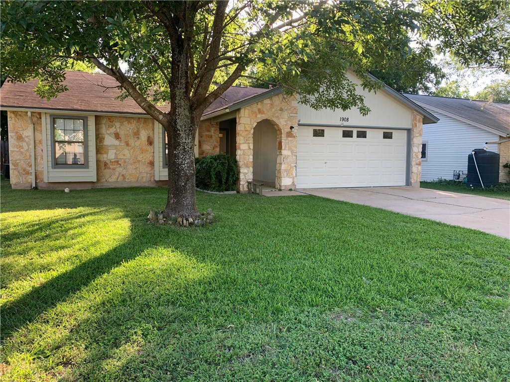 1908 Dry Creek DR, Round Rock TX 78681 Property Photo - Round Rock, TX real estate listing