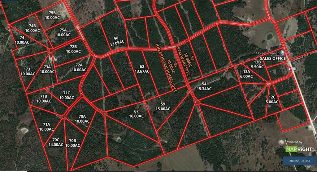 Tract 73 B Carpenter Loop PL, Burnet TX 78611 Property Photo - Burnet, TX real estate listing