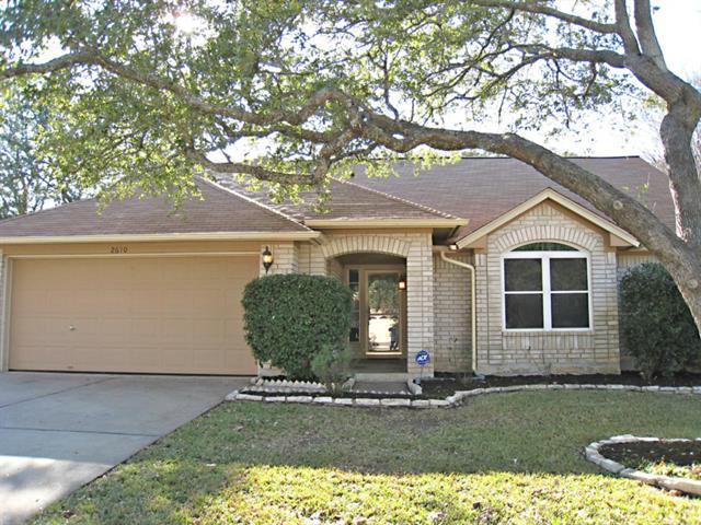 2610 Sabinal TRL, Cedar Park TX 78613, Cedar Park, TX 78613 - Cedar Park, TX real estate listing