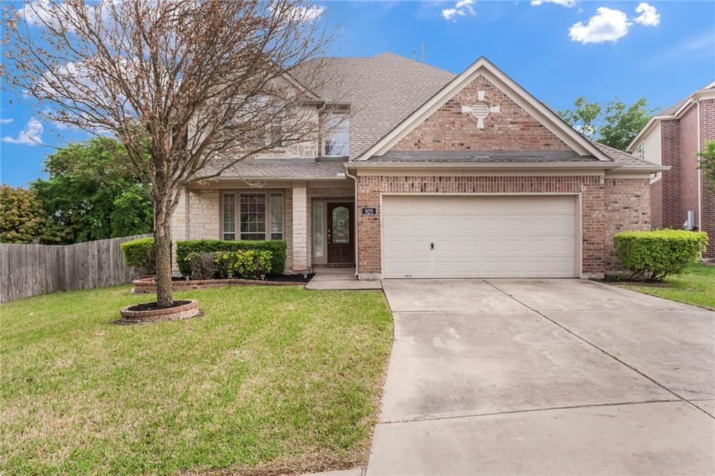 925 Bethpage DR Property Photo - Hutto, TX real estate listing