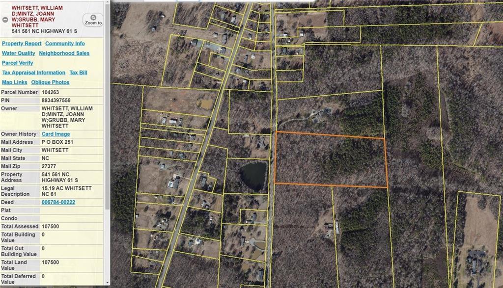541 Nc-61 Highway Property Photo