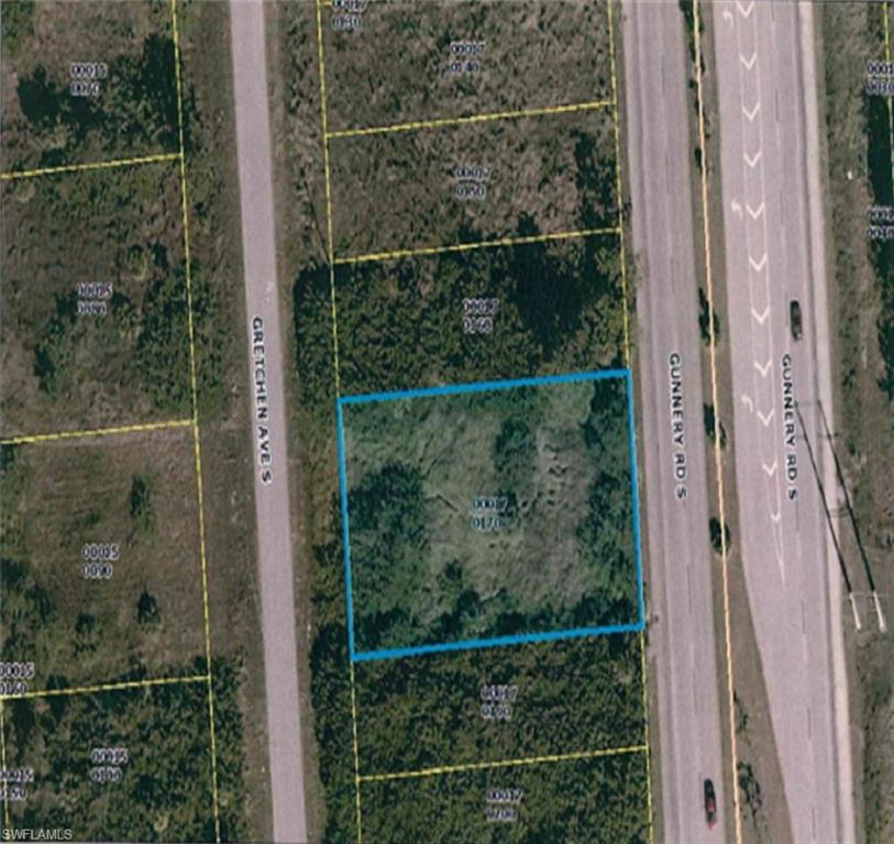 Dual Road Access Property Photo - LEHIGH ACRES, FL real estate listing