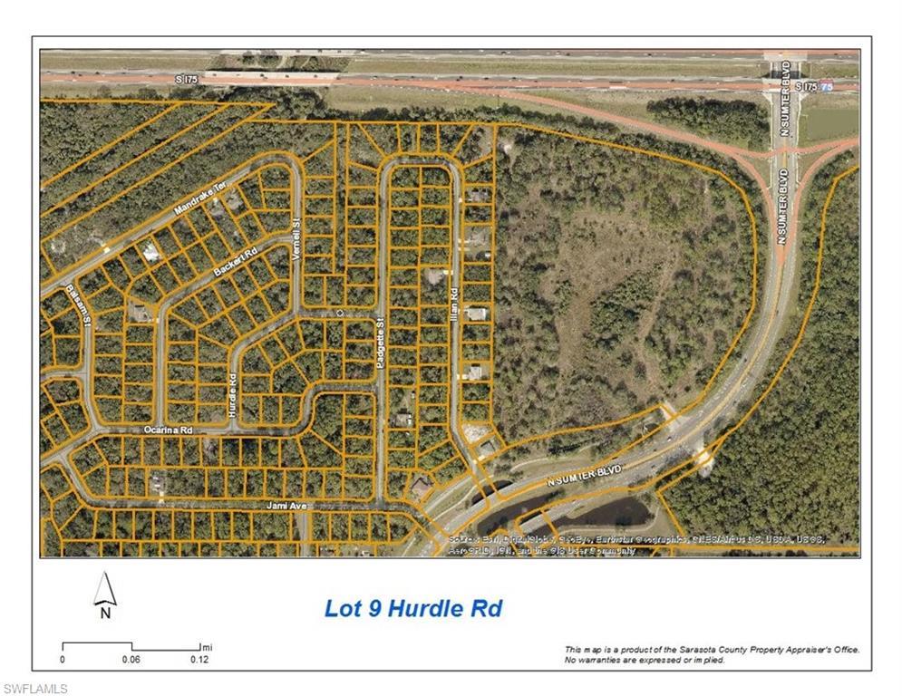 Lot 9 Hurdle Road Property Photo - NORTH PORT, FL real estate listing