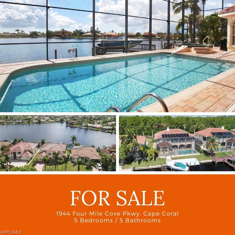 1944 Four Mile Cove Parkway Property Photo - CAPE CORAL, FL real estate listing
