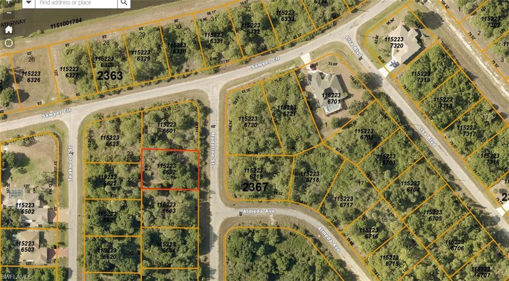 Madeline Street Property Photo - NORTH PORT, FL real estate listing