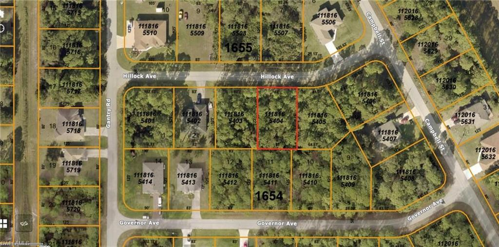 Hillock Avenue Property Photo - NORTH PORT, FL real estate listing