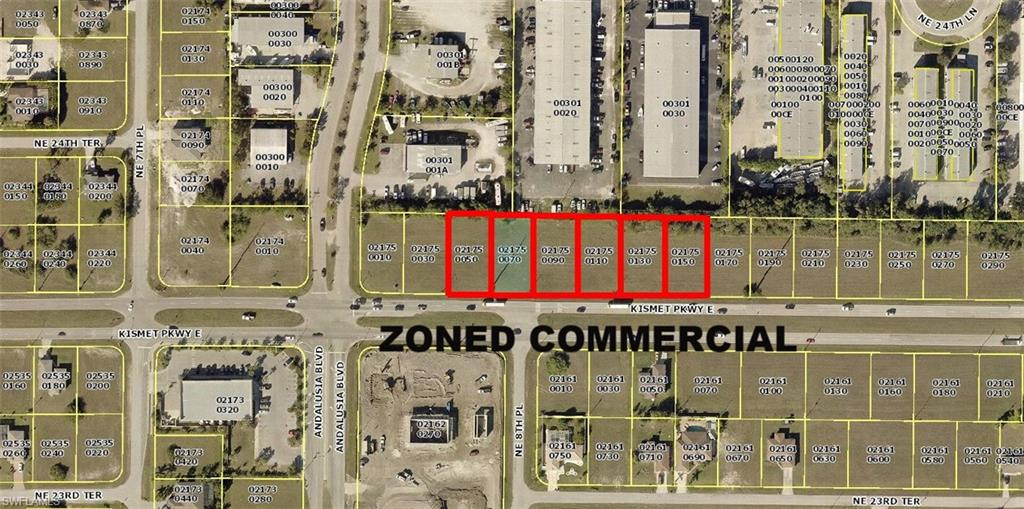 809,813,817,821,825,829 Kismet Parkway E Property Photo - CAPE CORAL, FL real estate listing