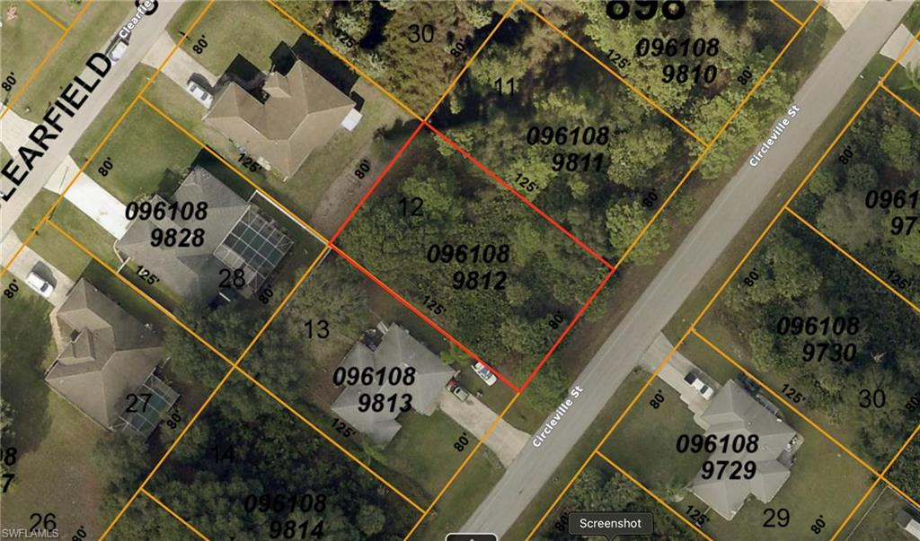 Circleville Street Property Photo - NORTH PORT, FL real estate listing