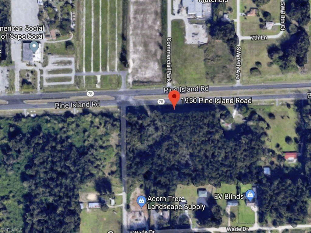 Corner Lot Property Photo - CAPE CORAL, FL real estate listing