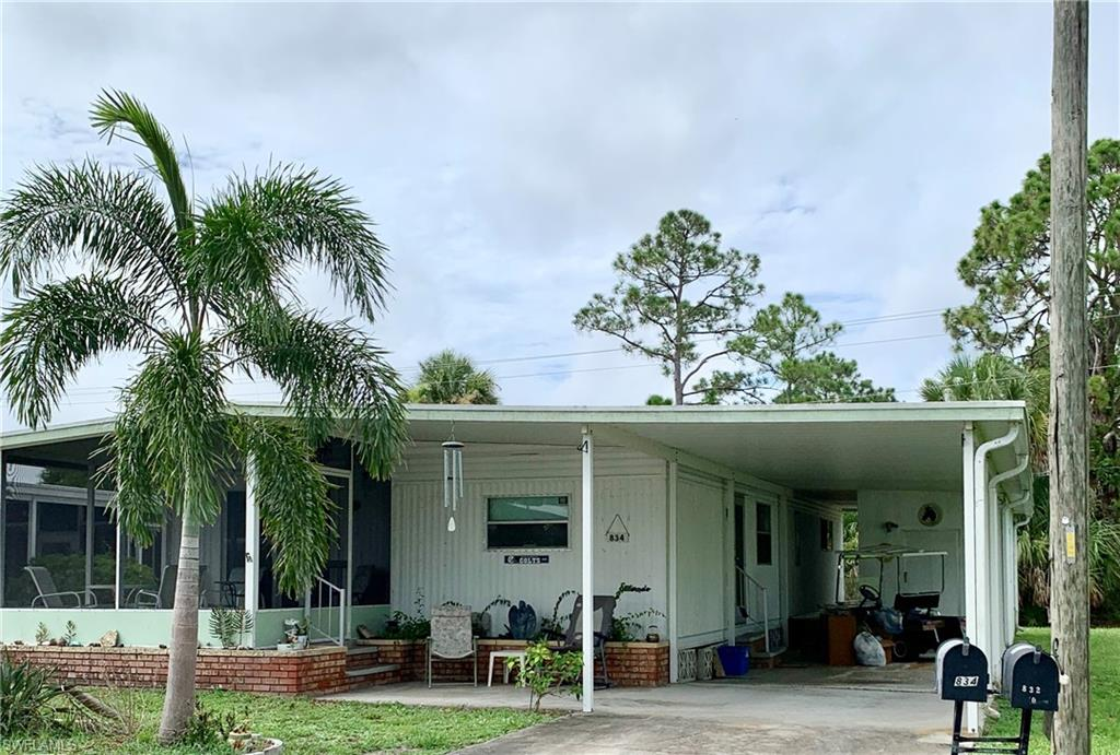 834 Holly Berry Court Property Photo - NORTH FORT MYERS, FL real estate listing