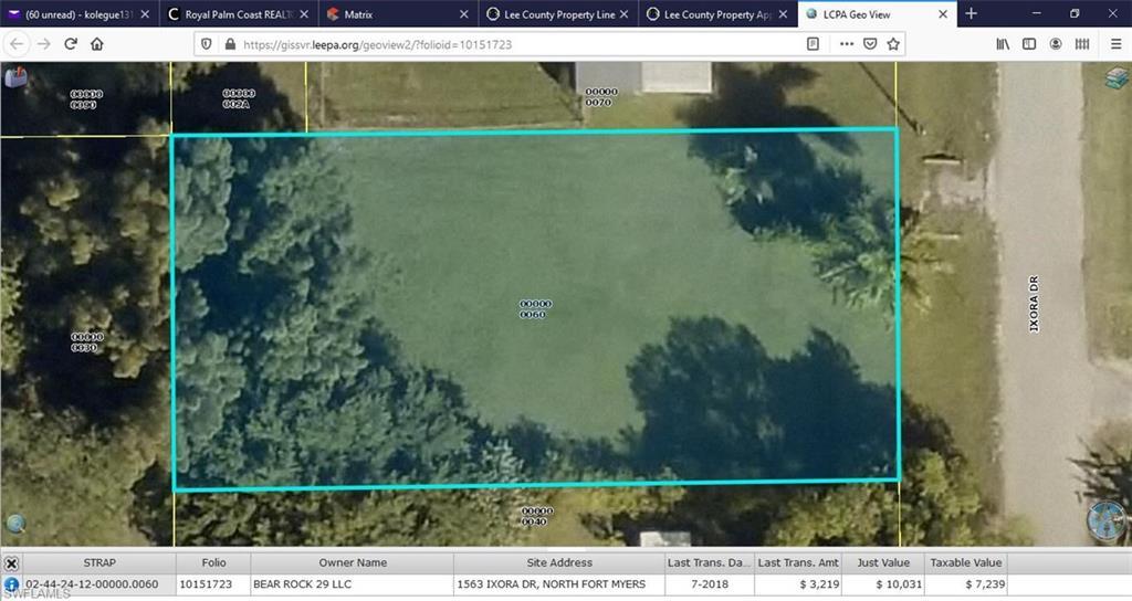 1563 Ixora Drive Property Photo