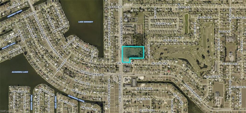 927 Santa Barbara Boulevard Property Photo - CAPE CORAL, FL real estate listing