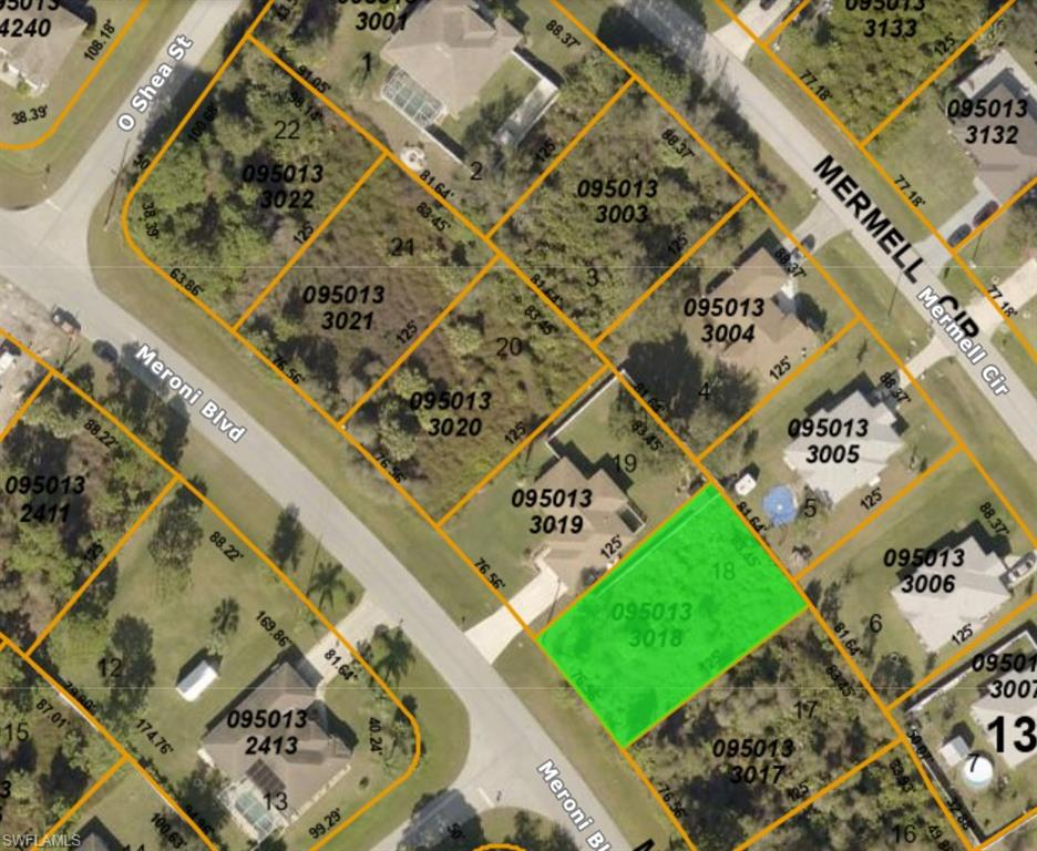 Lot 18 Meroni Boulevard Property Photo - NORTH PORT, FL real estate listing