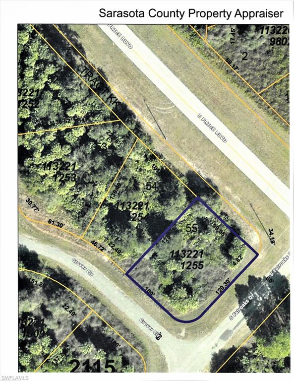 Grover Circle Property Photo - NORTH PORT, FL real estate listing