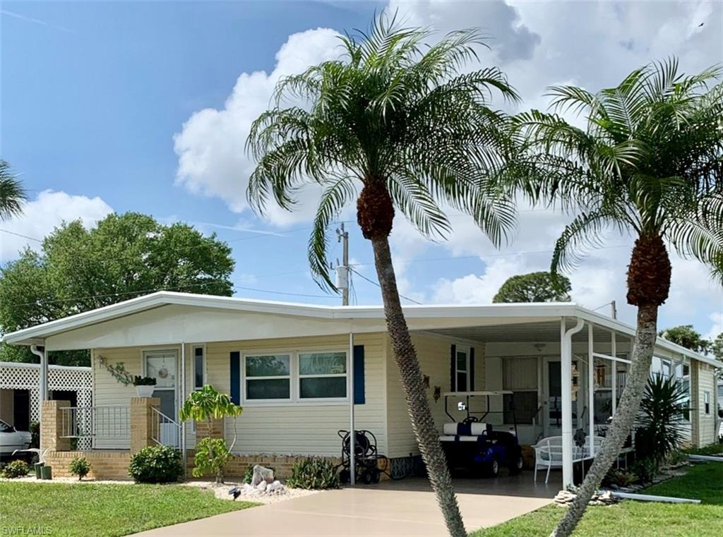 705 Palm Frond Court Property Photo - NORTH FORT MYERS, FL real estate listing