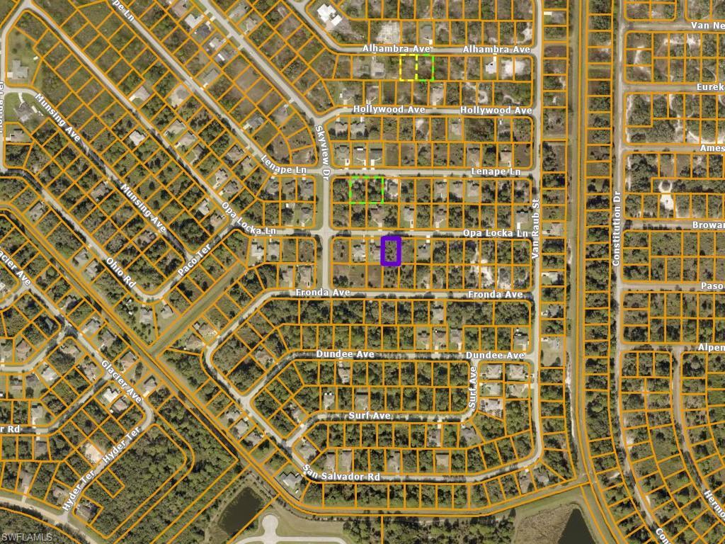 Opa Locka Lane Property Photo - NORTH PORT, FL real estate listing