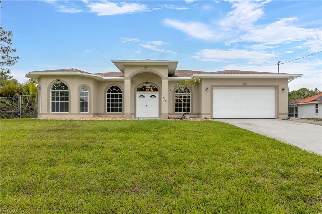 419 Sheldon Avenue Property Photo - LEHIGH ACRES, FL real estate listing