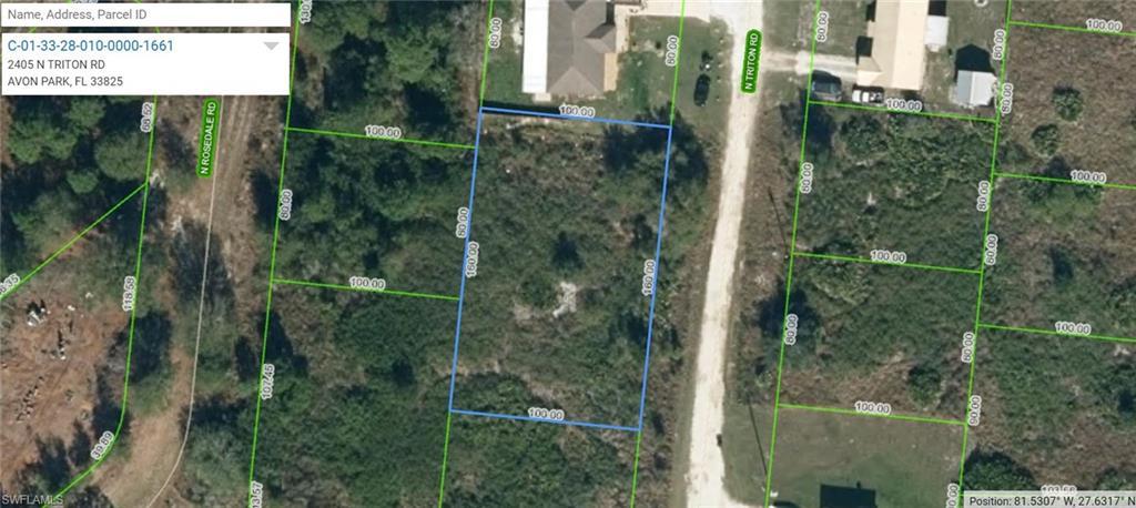 2405 N Triton Road Property Photo - AVON PARK, FL real estate listing