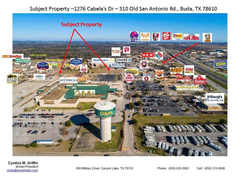 1276 Cabelas Drive Property Photo - Buda, TX real estate listing