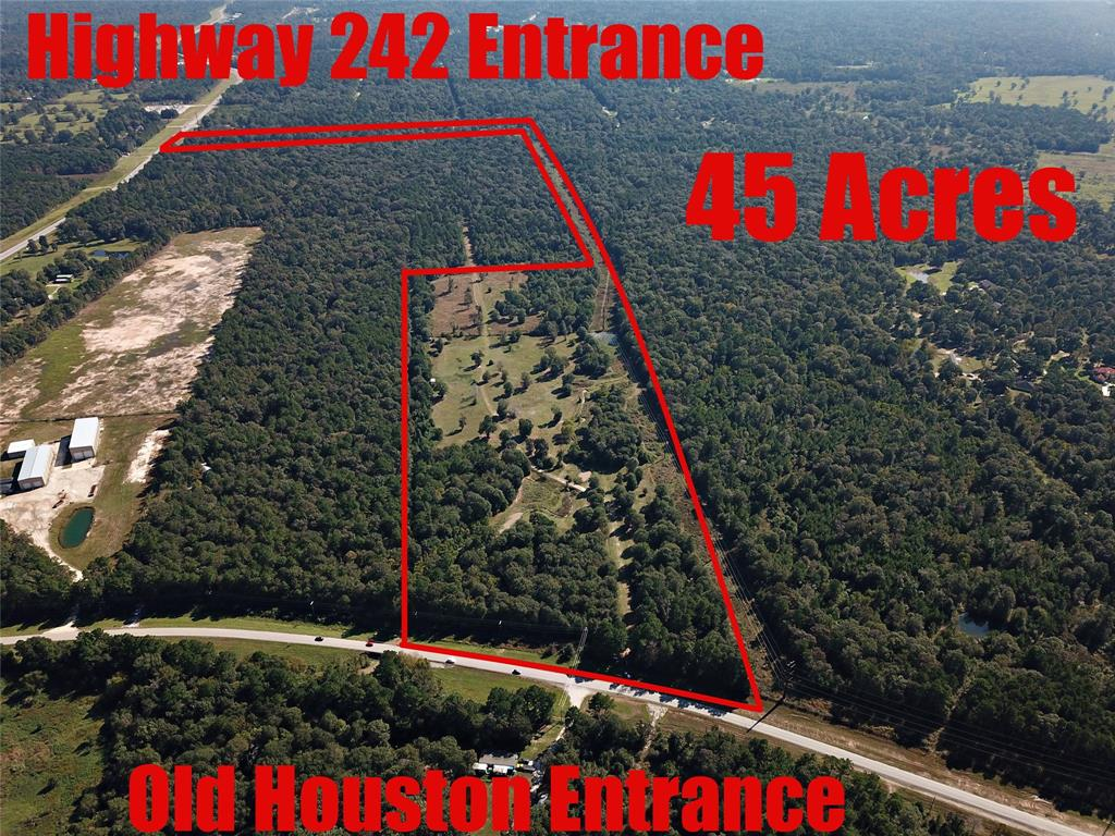 16621 Old Houston Road Property Photo - Conroe, TX real estate listing