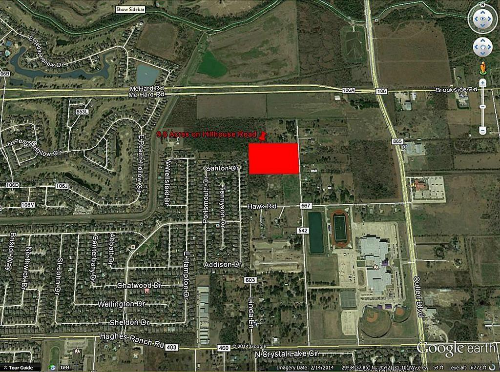 0 Hillhouse - CR 542 Road Property Photo - Pearland, TX real estate listing