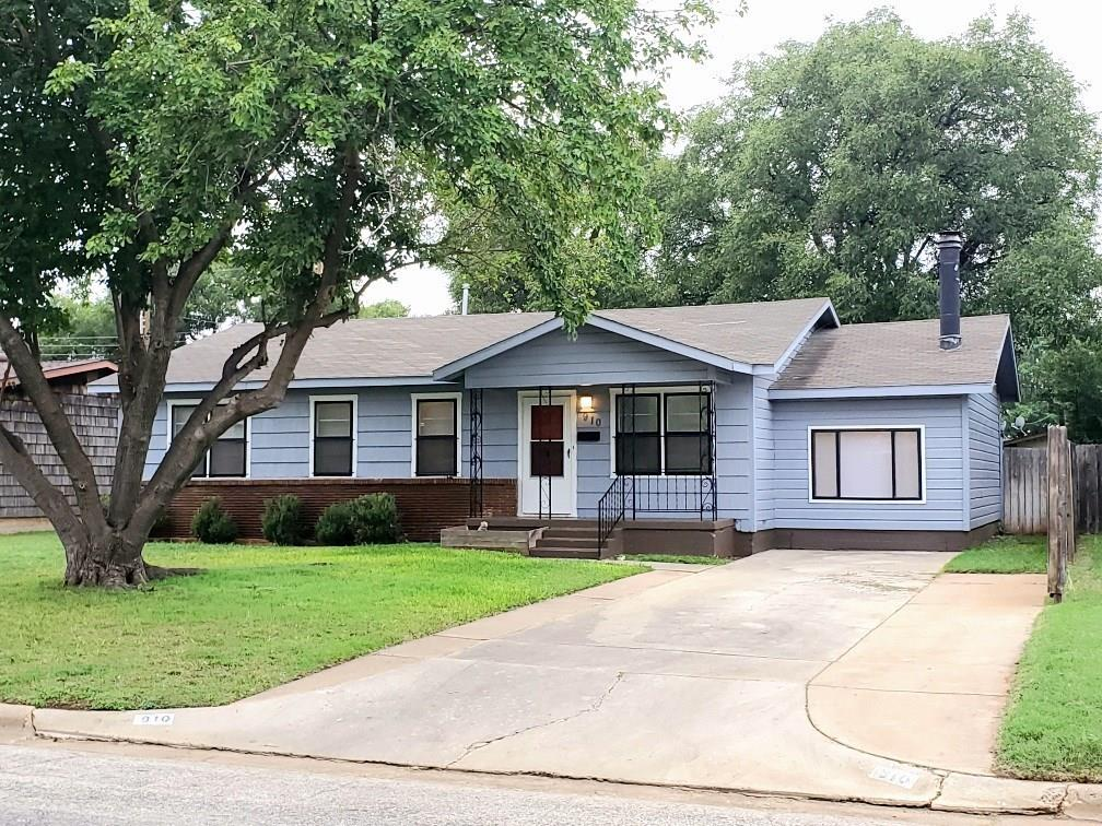 910 Burger Street Property Photo - Abilene, TX real estate listing