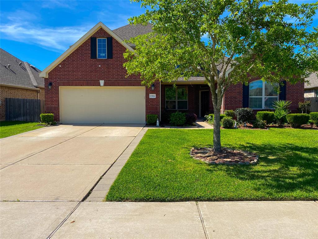 1504 Preserve Lane Property Photo - Pearland, TX real estate listing