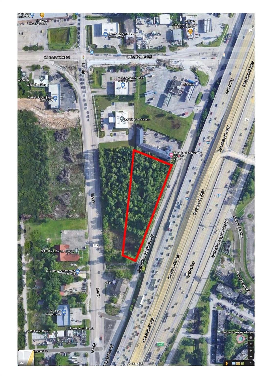 14339 Eastex Freeway Property Photo