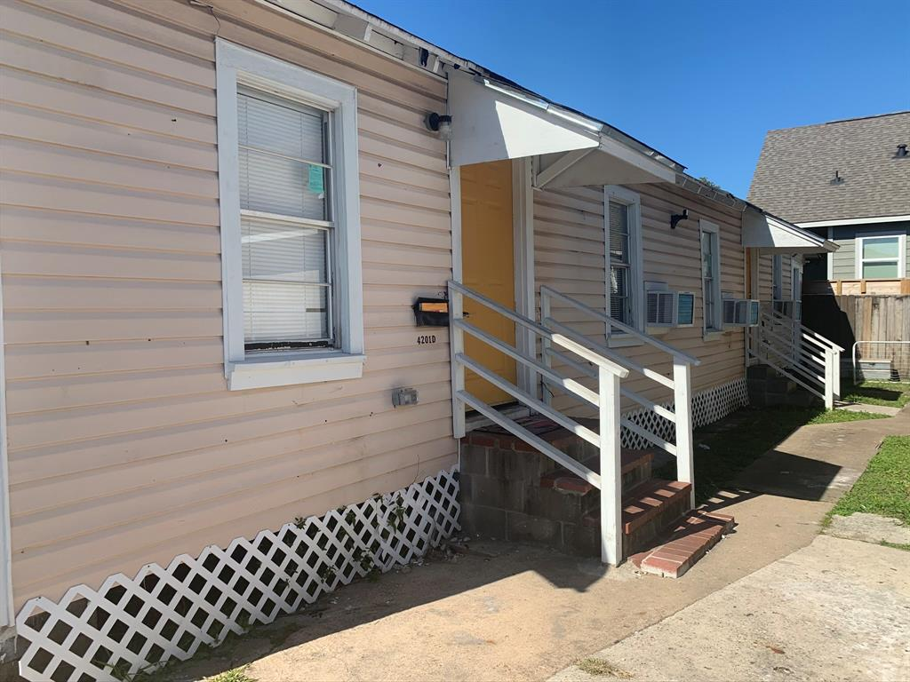 4201 Chapman #D, Houston, TX 77009 - Houston, TX real estate listing