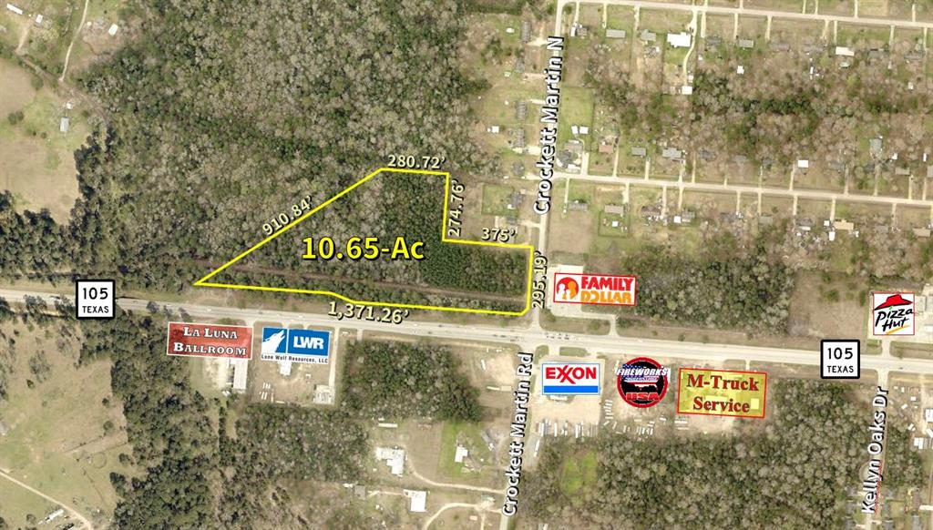 0 HWY 105 Property Photo - Conroe, TX real estate listing