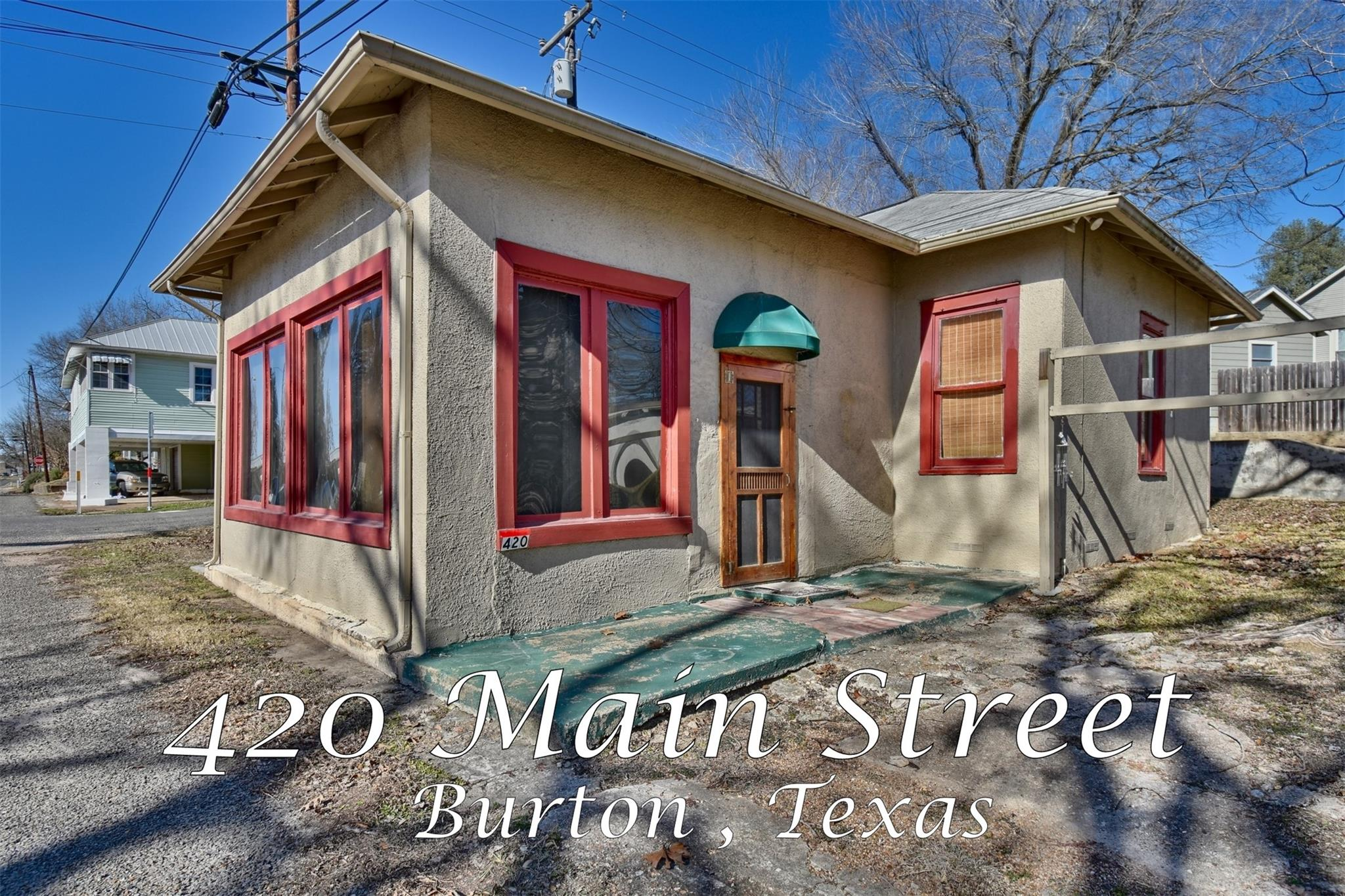420 N Main Street Property Photo - Burton, TX real estate listing