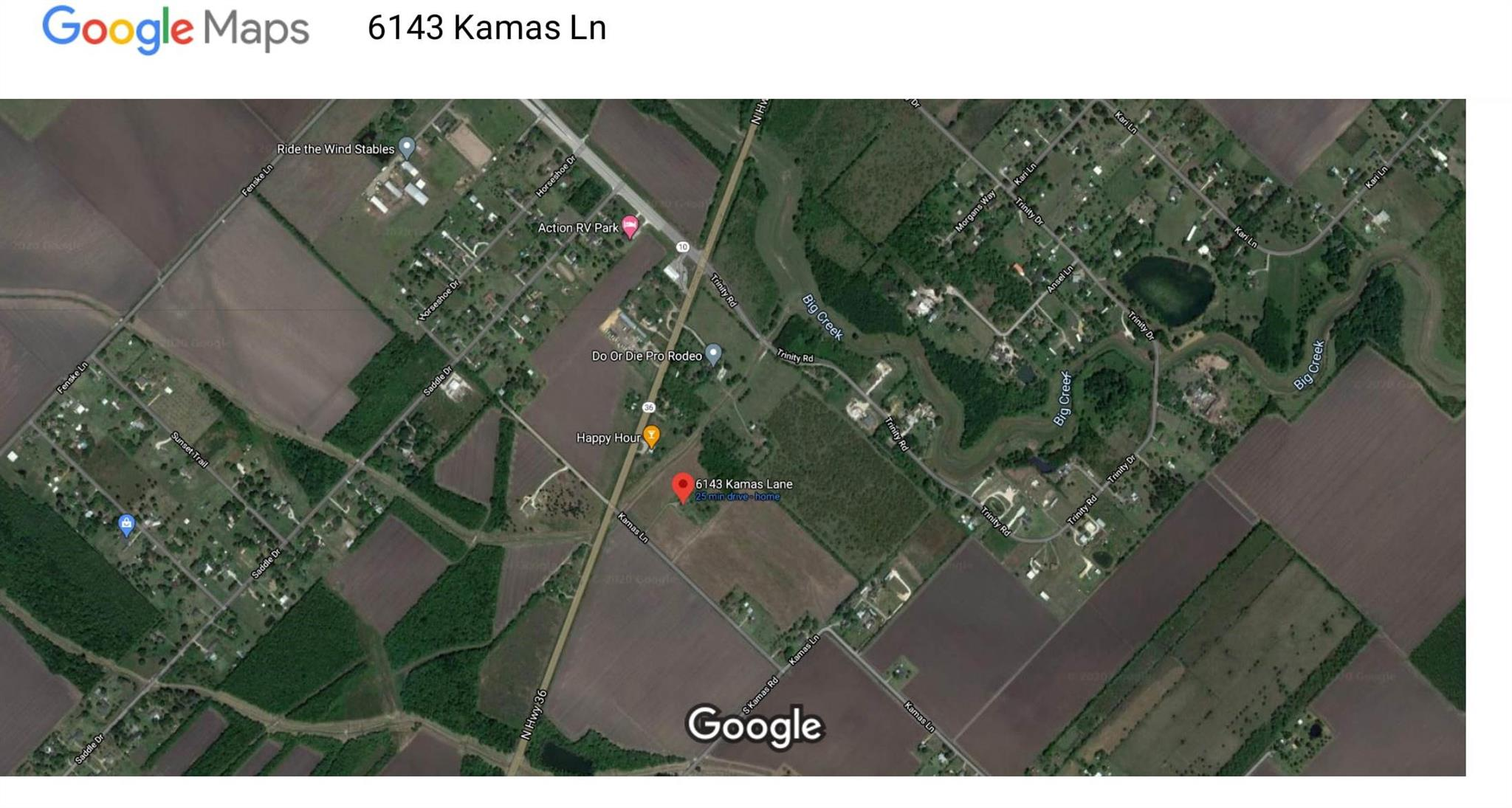 6143 Kamas Lane Property Photo - Needville, TX real estate listing