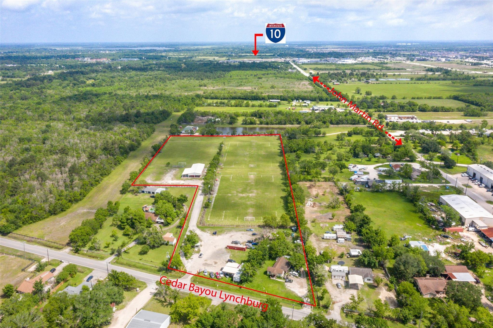 2510 W Cedar Bayou Lynchburg Road Property Photo - Baytown, TX real estate listing