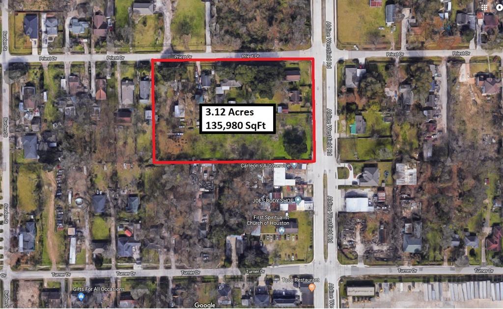 2046 Priest Drive Property Photo - Houston, TX real estate listing