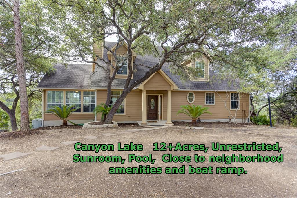 1790 Skyline Drive, Canyon Lake, TX 78133 - Canyon Lake, TX real estate listing