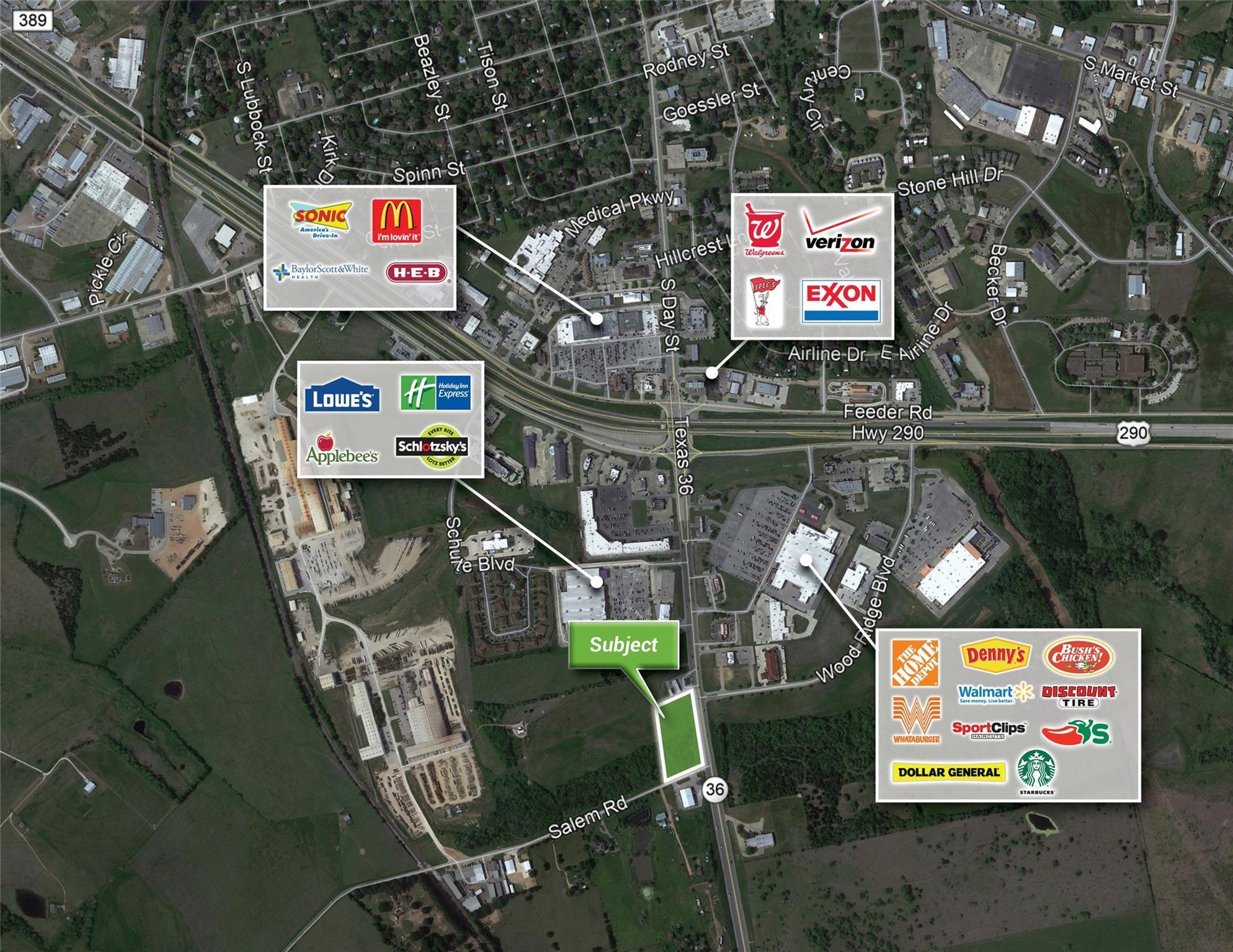 00000 Highway 36 Property Photo - Brenham, TX real estate listing