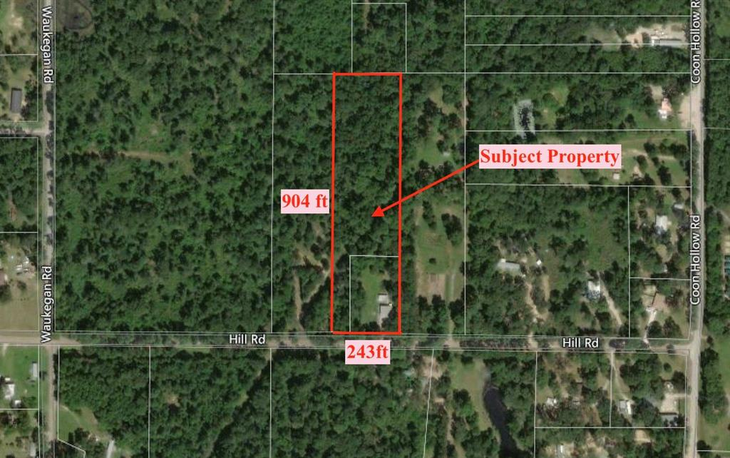 14909 Hill Road Property Photo - Conroe, TX real estate listing