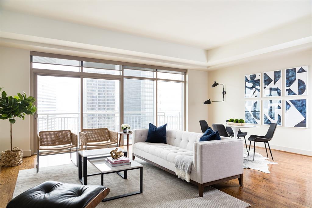 1400 Mckinney Street #105 Property Photo - Houston, TX real estate listing