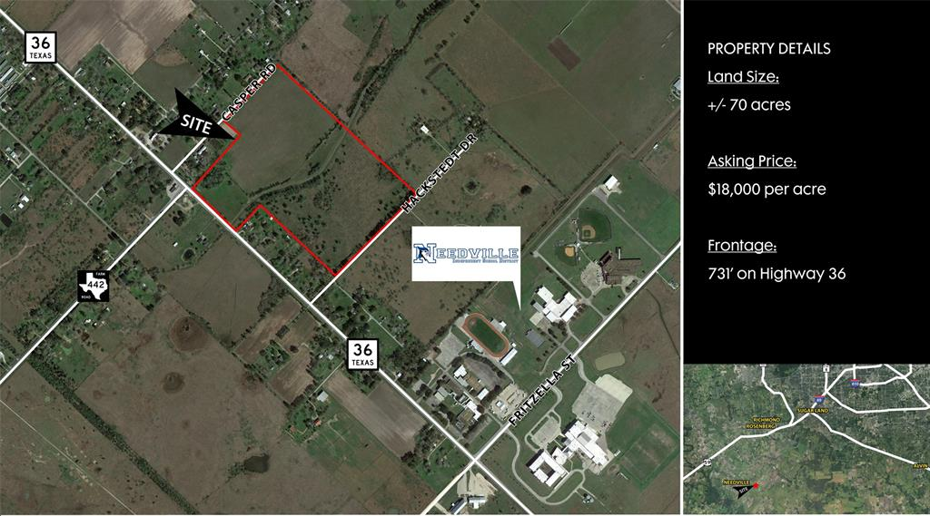 0 Hwy 36 Property Photo - Needville, TX real estate listing