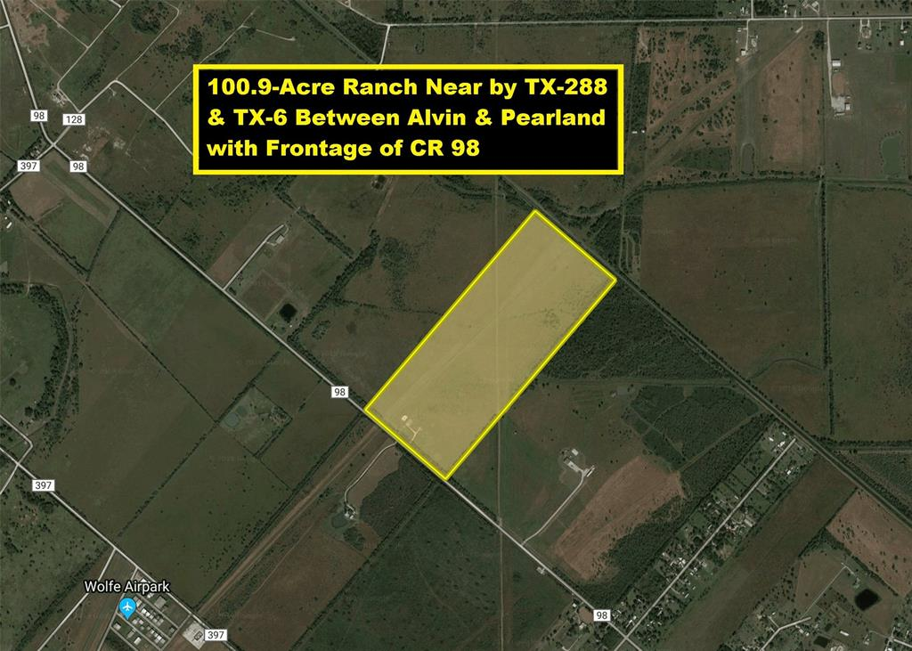 TR 36 County Road 98 Property Photo - Manvel, TX real estate listing